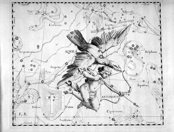 Aquilavista da Hevelius