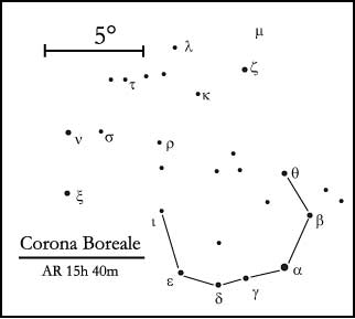 costellazione della Corona Boreale