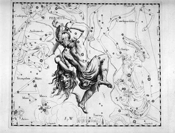Perseo visto da Hevelius