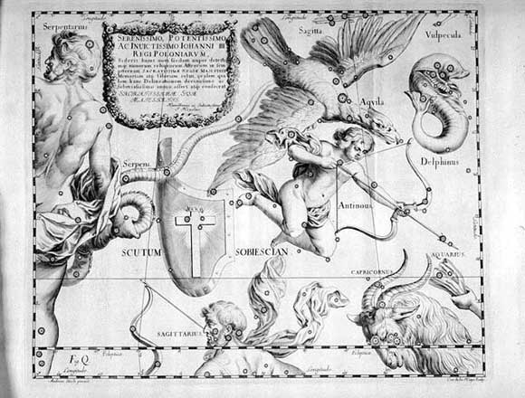Scudo visto da Hevelius