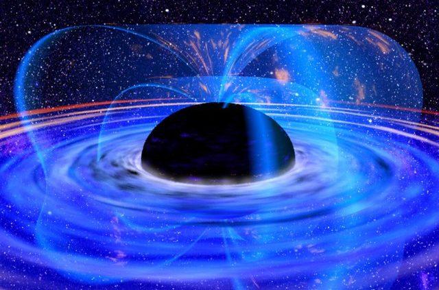 Buco Nero immaginato dalla NASA