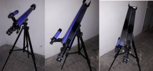 Fig. 18 - Osservare l'interno di un normale telescopio astronomico