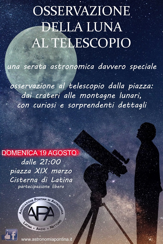 Locandina Cisterna 19 agosto 2018