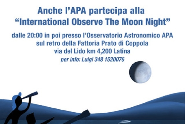 Locandina Notte della Luna