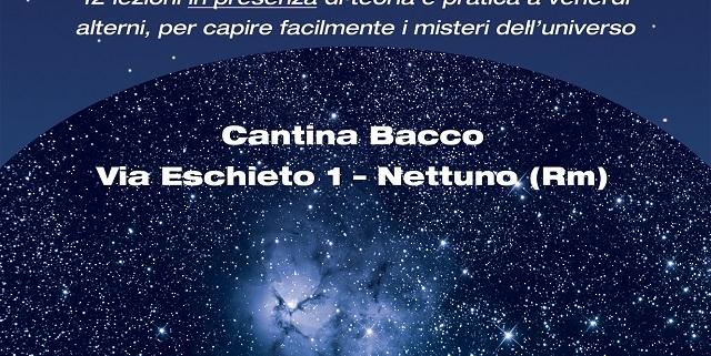 Locandina Corso Cantina Bacco Nettuno