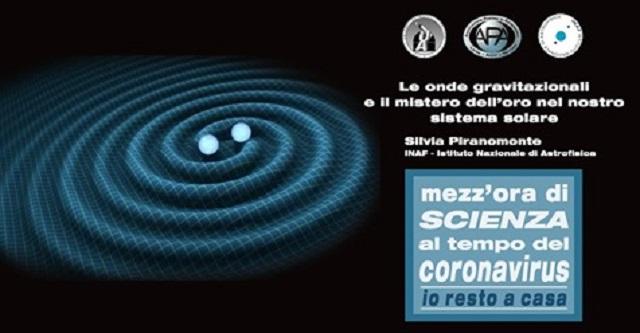 Locandina incontro del 17 aprile 2020