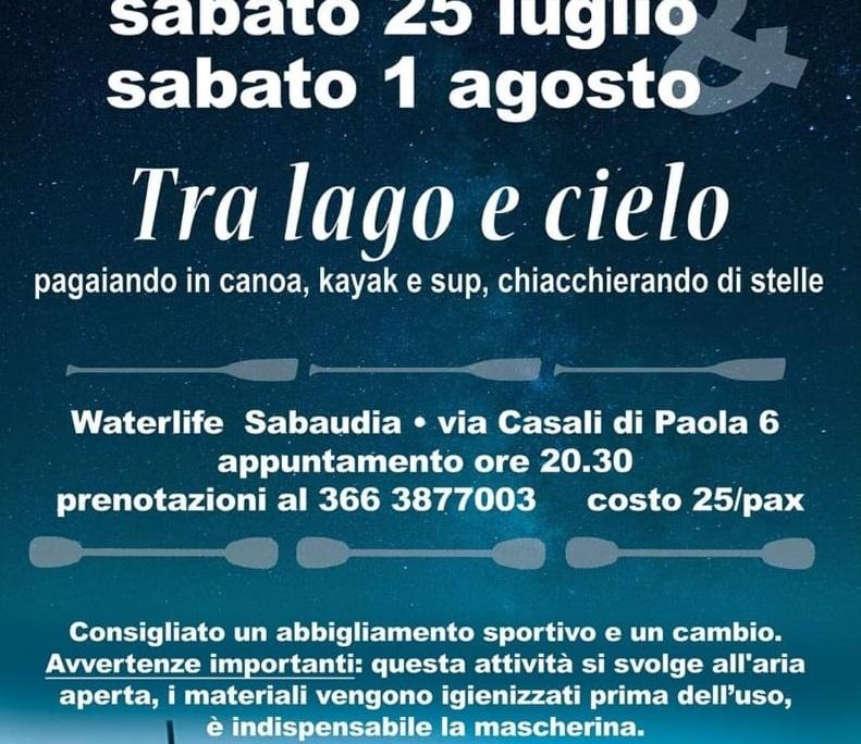 Locandina evento Lago di Paola