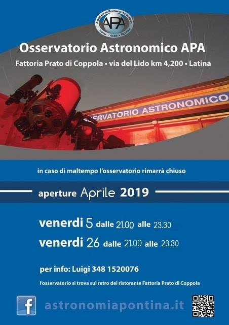 Locandina Aprile 2019
