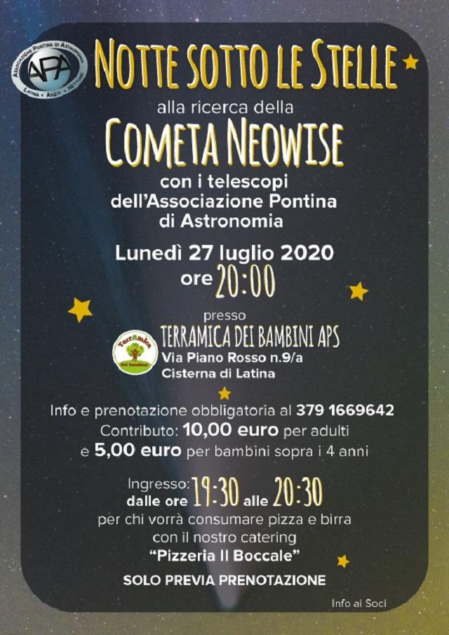 Locandina Terramica 27 luglio 2020