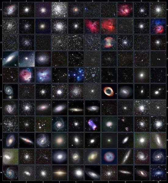 OGGETTI Messier