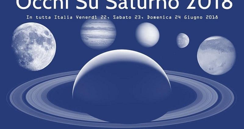 Locandina Occhi su Saturno