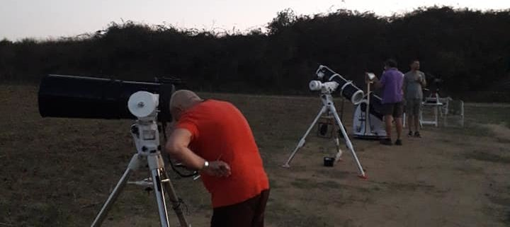 Telescopi schierati