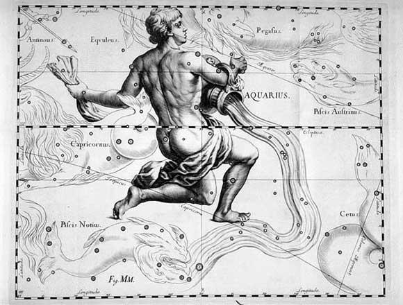 L'Acquario visto da Hevelius