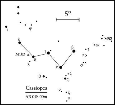 costellazione di Cassiopea