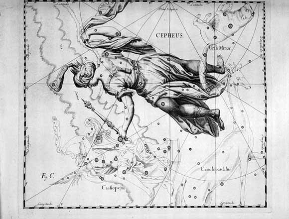 Cefeo visto da Hevelius