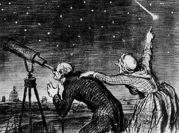 daumier e le comete