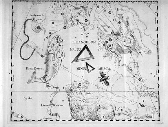 Mosca vista da Hevelius