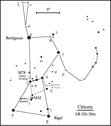 costellazione di Orione