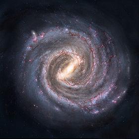La Via Lattea, la nostra galassia, dovrebbe essere simile a questa. Noi ci troviamo in un ramo esterno